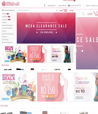 Ecommerce Website Development Oman