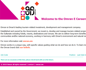 e-Recruitment Oman E Careers