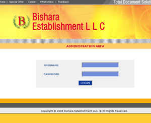 CRM System Bishara Establishment